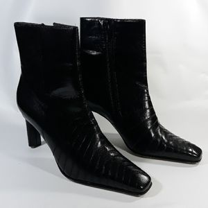 Ann Marino Leather ankle boots 8.5